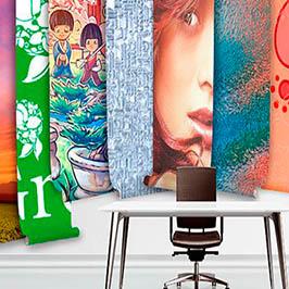 Impresión digital online de lonas publicitarias | Walltoprint